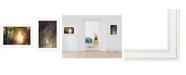 "Trendy Decor 4U Path of Happiness 2-Piece Vignette by Martin Podt, White Frame, 21"" x 15"""