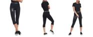 Lids DKNY Women's New England Patriots Karan Capri Leggings
