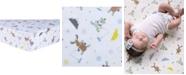 Trend Lab Gone Ice Fishing Flannel Crib Sheet