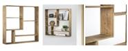 Crystal Art Gallery American Art Decor Rustic Wood Multi-Unit Hanging Wall Shelf