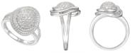Macy's 1-1/4 ct. t.w. Round Shape Diamond Ring in 14k White Gold