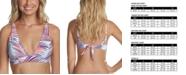 Raisins Juniors' Back to Bali Printed Bikini Top, Created for Macy's