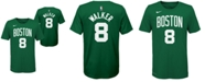 Nike Big Boys Kemba Walker Boston Celtics Icon Name and Number T-Shirt
