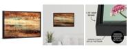 "GreatBigCanvas 'Subterranean Blues' Framed Canvas Wall Art, 24"" x 16"""