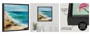 "GreatBigCanvas 24 in. x 24 in. ""Coastal Breeze"" by  Sydney Edmunds Canvas Wall Art"