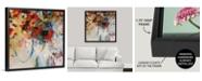 """GreatBigCanvas 36 in. x 36 in. """"Bouquet Toss"""" by  Jodi Maas Canvas Wall Art"""