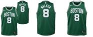 Nike Big Boys Kemba Walker Boston Celtics Icon Swingman Jersey
