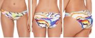Salt + Cove Juniors' Zebra-Print Hipster Bikini Bottoms, Created for Macy's