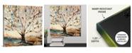 """GreatBigCanvas 16 in. x 16 in. """"Merkaba Tree"""" by  Jodi Maas Canvas Wall Art"""