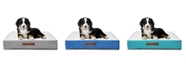 Wags n Whiskers Atkins Lattice Small Orthopedic Pet Bed