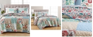 Martha Stewart Collection LAST ACT! Country Flora Patchwork Reversible Full/Queen Quilt, Created for Macy's