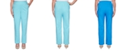 Alfred Dunner Petite Sea You There Pull-On Pants