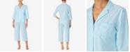 Lauren Ralph Lauren Stripe Capri Pajamas Set