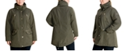 Michael Kors Plus Size Hooded Anorak Jacket, Created for Macy's