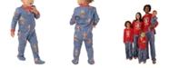 Munki Munki Matching Baby Star Wars Holiday Chewbacca Family Pajama One Piece
