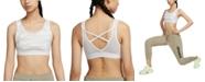 Nike Women's Pro Camo-Print Medium-Support Sports Bra
