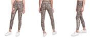 Calvin Klein Printed High-Waist 7/8 Length Leggings
