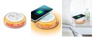 Vie Oli Restful Light Wireless Charging Pad With Himalayan Salt