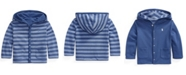 Polo Ralph Lauren Ralph Lauren Baby Boys Reversible Hooded Jacket