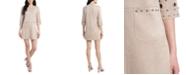 MSK Faux-Suede A-Line Dress