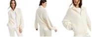 Alfani Modern Lounge Zippered Mock-Neck Sweater, Created for Macy's