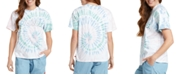 Dickies Juniors' Tie-Dyed Logo Graphic T-Shirt