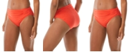 Carmen Marc Valvo Classic Shirred Bikini Briefs
