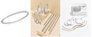 Macy's Diamond Bangle Bracelet in 14k White Gold (1 ct. t.w.)