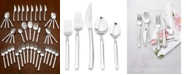J.A. Henckels Zwilling TWIN® Brand Opus 18/10 Stainless Steel 45-Pc. Flatware Set, Service for 8