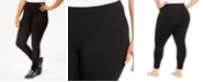 Style & Co Plus Size Tummy-Control Leggings, Created for Macy's