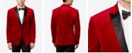 Bar III Men's Slim-Fit Red Velvet Sport Coat, Created for Macy's