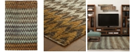 "Tommy Bahama Home Ansley Jute 50908 Brown 3' 6"" x 5' 6"" Area Rug"