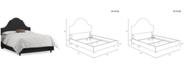 Skyline Jenny Nail Button Bed - King
