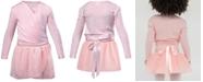 Flo Dancewear Crossover Top & Wrap Skirt, Toddler, Little Girls & Big Girls