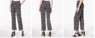 Michael Kors Petite Printed Pants