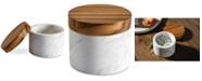 Anolon Pantryware White Marble Salt Cellar