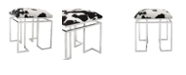 Moe's Home Collection Appa Stool Square