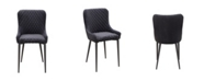 Moe's Home Collection Etta Dining Chair Dark Gray