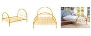Furniture of America Capelli Twin Metal Arch Bed