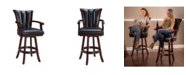 "Blue Wave Avondale 32"" Swivel Bar Stool"