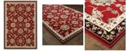 """Oriental Weavers Kashan 370R Red/Multi 9'10"""" x 12'10"""" Area Rug"""