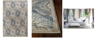 "Kas Seville Mosaic 9451 Pewter 5'3"" x 7'7"" Area Rug"