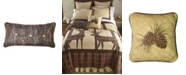 American Heritage Textiles Brown Antler Woods Cotton Quilt Collection, Accessories