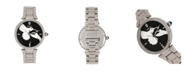 Bertha Quartz Nora Silver Stainless Steel Watch, 38mm