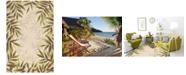 """Kas Harbor Nature 4225 Sand 3'3"""" x 5'3"""" Indoor/Outdoor Area Rug"""