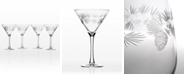 Rolf Glass Icy Pine Martini 10Oz - Set Of 4 Glasses