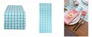 """Design Imports Checkers Table Runner 14"""" X 72"""""""