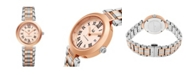 Stuhrling Alexander Watch AD203B-04, Ladies Quartz Date Watch with Rose Gold Tone Stainless Steel Case on Rose Gold Tone Stainless Steel Bracelet