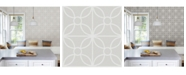 "Brewster Home Fashions Savvy Geometric Wallpaper - 396"" x 20.5"" x 0.025"""