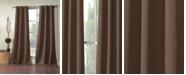 """Duck River Textile Ashmury 38"""" x 84"""" Blackout Curtain Set"""
